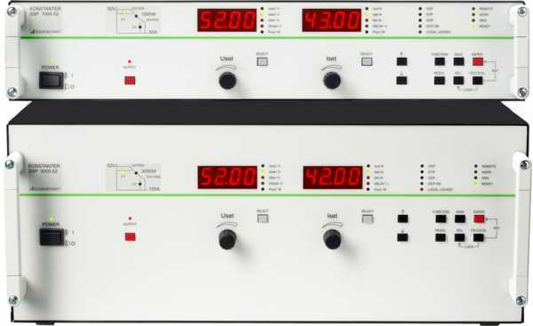 SSP 500 ... 1000 Programmable Laboratory Power Supplies