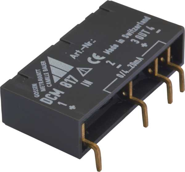 DC Signal Isolator for PCB Mounting, Passive
