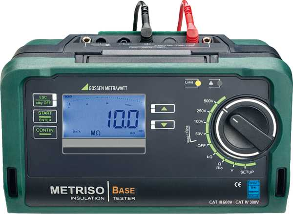 Test Instrument for Insulation, Low-resistance and Voltage Measurements