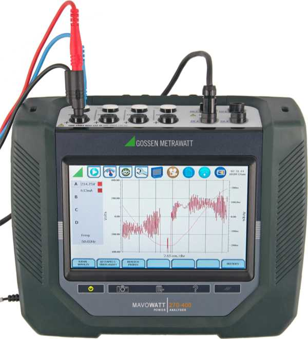 MAVOWATT 270-400 Three-Phase Energy and Power Disturbance Analyzers