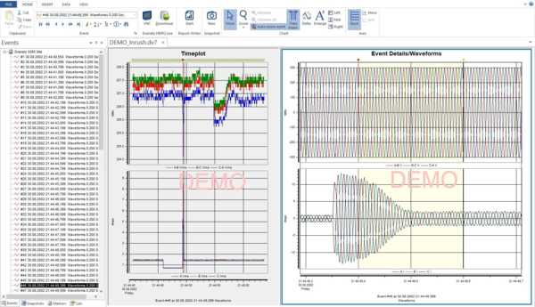 Software for power analysis with MAVOWATT