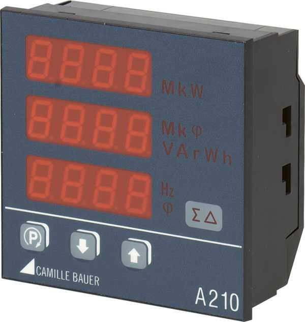 Multifunctional Power Monitor 96 x 96 mm