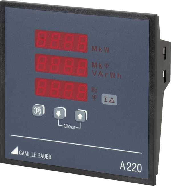 Multifunctional Power Monitor 144 x 144 mm