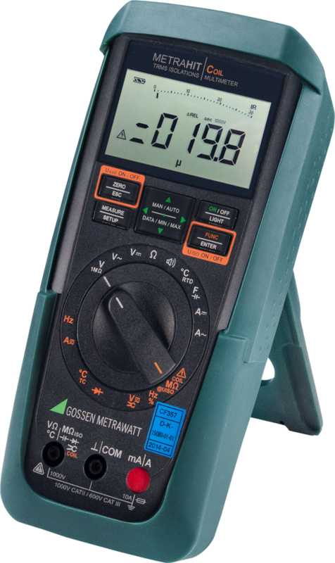 TRMS Multimeter, Motorwicklungs- und Isolationstester mit 30.000 Digits