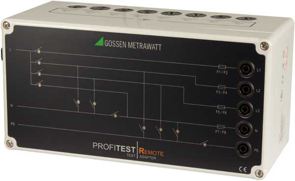 3-Phase Test Adapter for PROFITEST MTECH+ IQ, MXTRA IQ and PRIME