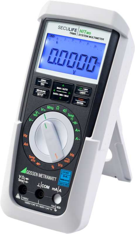 TRMS System Multimeter for Use in Medical and Hygienic Sensible Ranges