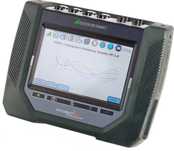MAVOWATT 230 three-phase energy and power disturbance analyzers