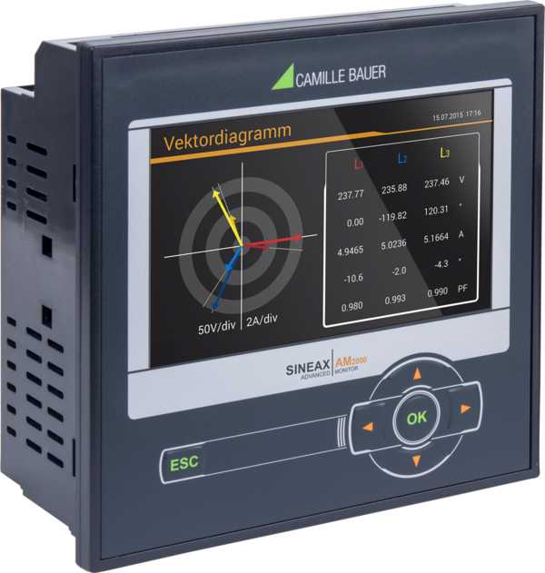 A Comprehensive Instrument for Measurement and Monitoring of Power Systems