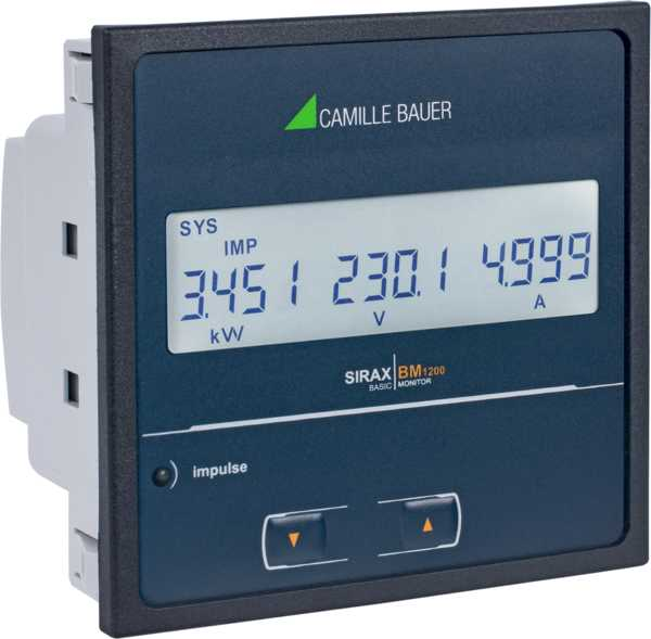 Programmable Unit for Heavy Current Monitoring with Display, LCD