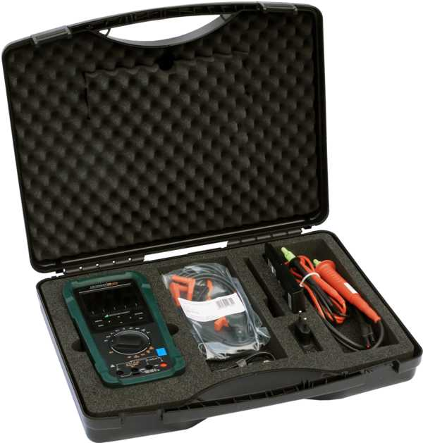 All-In-One: Multi- & Milliohmmeter & Isolationsmessgerät & Wicklungstest & Datalogger