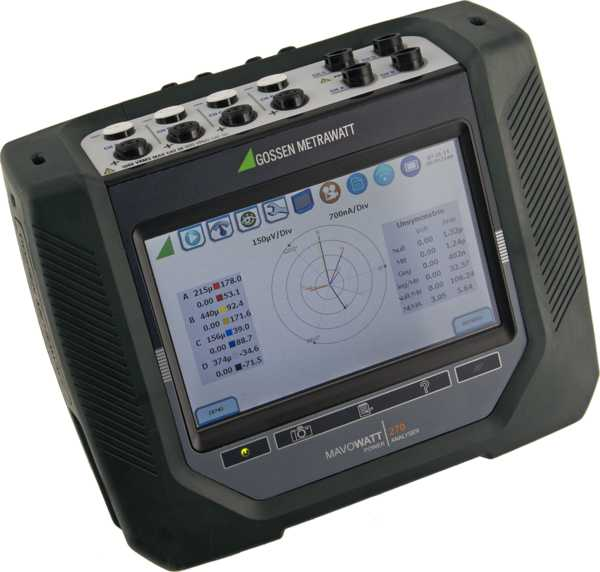 MAVOWATT 270 three-phase energy and power disturbance analyzers